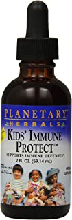 Planetary Herbals Immune Protect Liquid for Kids, 2 Fluid Ounce