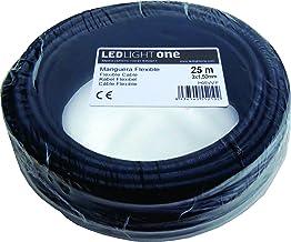 Cable H05VV-F Manguera 3x1,5mm 25m (Negro)