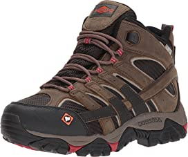 3b717ac99ff Merrell Work Moab 2 Vent Mid Waterproof CT | Zappos.com