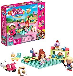 Mega Construx Barbie Bakery GWR32, zabawki budowlane dla dzieci