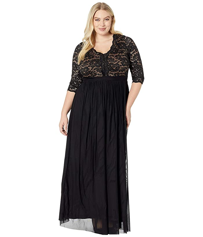 d4b32e900 Kiyonna Jasmine Lace Evening Gown at Zappos.com