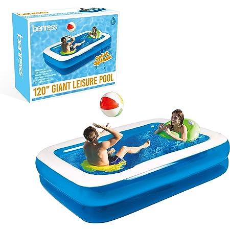 Benross 83390 Family Inflatable Rectangular Paddling Swimming Pool