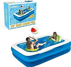 Gardenkraft 3m Garden Extra Inflatable Rectangular Swimming Pool (Large)