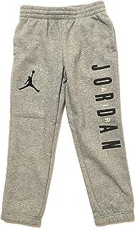 e187a923c77fe2 Jordan Air Boys Sweatpants Dark Grey Heather Size 6