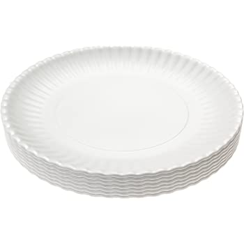 Reusable Blue /& White Gingham Checkered Picnic//Dinner Plate Set of 4 180D ME0291 What Is It 9 Inch Melamine