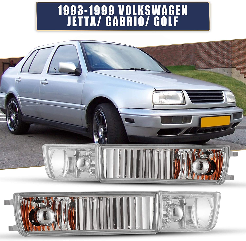 AUTOFREE Fog Lights Ranking TOP11 OFFer for 1993-1998 Jetta Golf Volkswagen VW