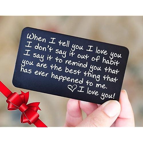 Personalized Gifts For Boyfriend Amazon Com
