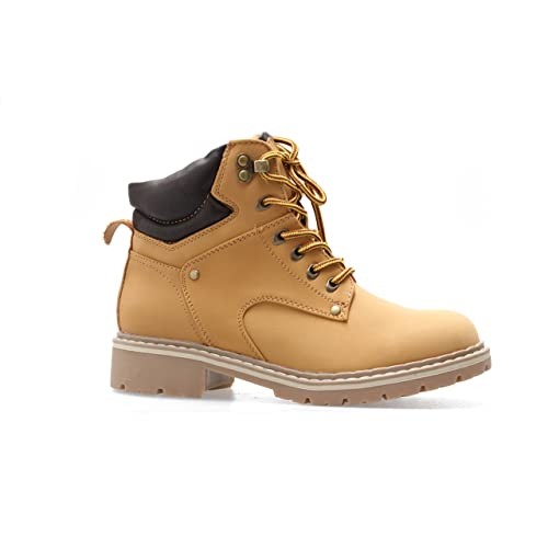 Forever Women s Ankle High Combat Hiking Boots fa8f08f45d