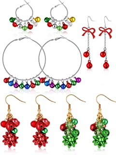 christmas cartilage earrings