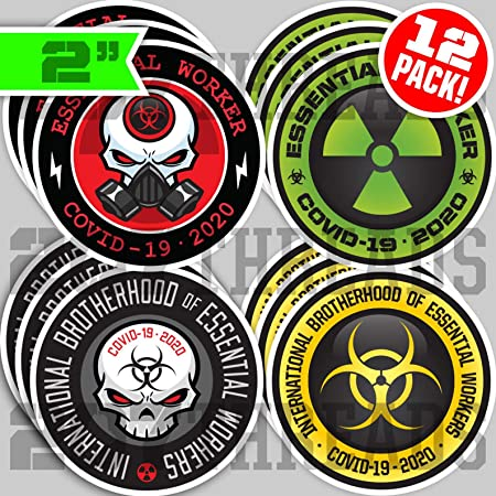 Clear Cast Decals ***Essential Workers***