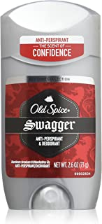 Old Spice Red Zone Anti-Perspirant Deodorant Invisible Solid Swagger, 2.6 Ounce (Pack of 3)