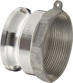 Dixon G400-A-AL Aluminum A380 Global Type A Cam and Groove Hose Fitting, 4