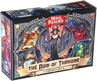White Wizard Games 60344 Hero Realms The Ruin of Thandar Trading Cards, multi-colored