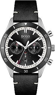 Hugo Boss Men's Analog Quartz Watch with Leather Strap 1513864
