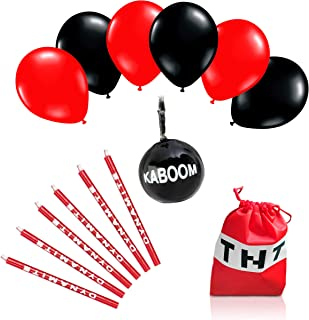 NEW Fat CAT Sales TNT Party Items Bag-Balloons-Candles