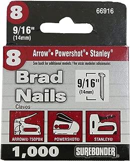 Brad Nails - 18 Gauge, 9/16