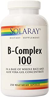 Solaray B Complex Supplement, 100mg, 250 Count
