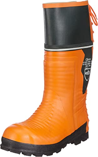 Schnittschutz-Gummibotas - botas de Goma con projoección contra Cortes para Hombre