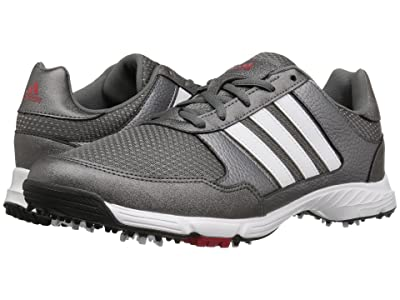 adidas Golf Tech Response (Iron Metallic/Ftwr White/Core Black) Men