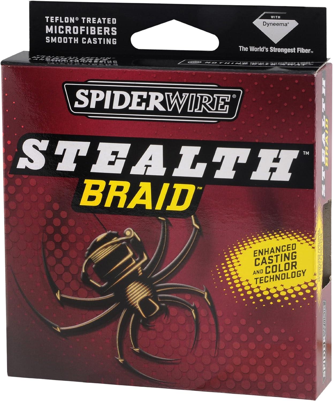 Spiderwire Angelschnur Stealth Braid 3000-yard Spule