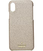 Kate Spade New York - Glitter Snap Case for iPhone X