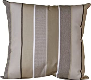 Outdoor Toss Pillow - Sunbrella Milano Charcoal Fabric - Amish Made in The USA