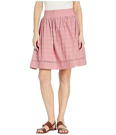Mountain Khakis Flutter Skirt Relaxed Fit (Rose) Women