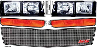Allstar Performance ALL23038 Monte Carlo SS Nose Decal Kit, Mesh Grille