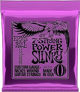 Ernie Ball 7-String Power Slinky Nickel Wound Set, .011 - .058