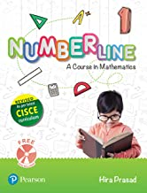 Number Line (Maths) | ICSE Class First | Revised First Edition as per latest CISCE curriculum | By Pearson