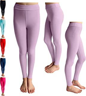 7dc12dfd3e78c POPINJAY Premium Soft Girls Leggings - Best High Waist Ankle Length 4-Way  Stretchy Leggings