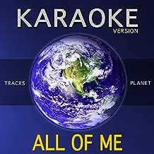 All of Me (Karaoke Version)