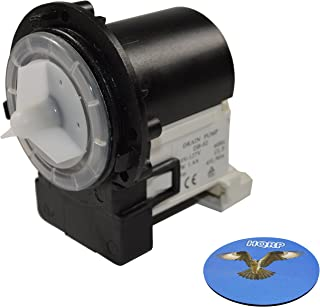 HQRP Drain Pump works with LG 4681EA2001T AP5328388 WM3470HWA WM3550HVCA WM3570HVA WM3670HVA WM3770HWA WM3987HW WM4070HVA WM4370HKA WM5000HVA WM8000HWA WM8100HVA WM8500HVA WM9000HVA WM9500HK Washer