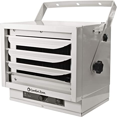 Comfort Zone CZ220 5,000W, Fan-Forced Ceiling Mount Heater with Dual Knob Controls: image