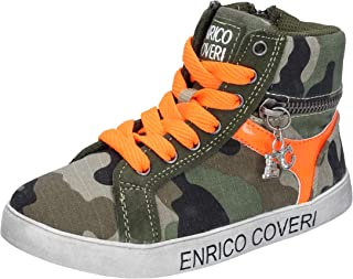 ENRICO COVERI Trainers Baby-Girls Green