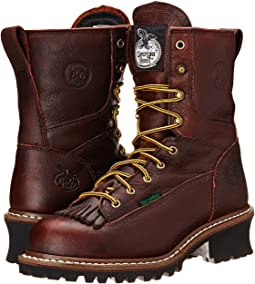 "Logger 8"" Waterproof ST w/ Removable Kiltie"