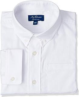 [マザウェイズ] 長袖 ボタンダウンシャツ ボーイズ 1006C 全2柄