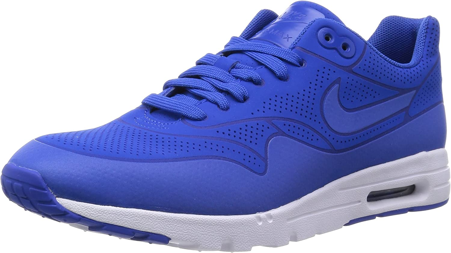 Nike Womens Air Max 1 Ultra Moire Faux Leather Perforated Running shoes