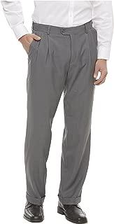 Covington Men's Pleated Front Suit Pants - Fishman & Tobin INC. Size: Variations. Color: Grey.