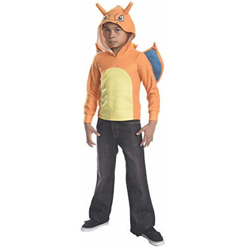 Rubies Costume Pokemon Charizard Child Novelty Hoodie Costume, Small