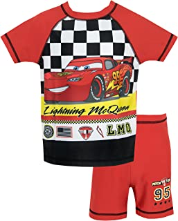 Disney Cars - Bañador de Dos Piezas para niño - Lightning Mcqueen