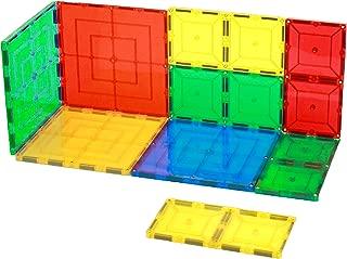Magnetic Stick N Stack Award Winning 8 Piece Tiles Set 4 6X6 Large Tiles 4 6X3 Tiles