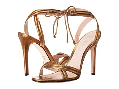 Schutz Yvi (Bronze Metallic Nappa) Women