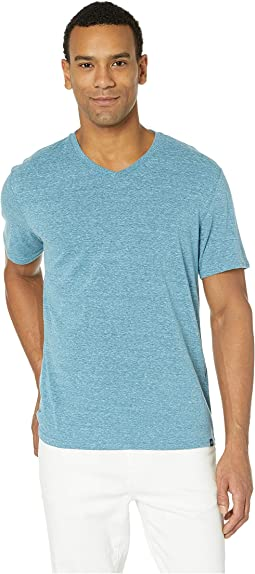 429a02ac2a33 Oakley scores 1 4 zip pullover blue mirage light heather | Shipped ...