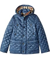 Burberry Kids - Charlie Quilted Jacket (Little Kids/Big Kids)