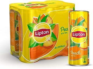 Lipton Ice Tea Peach 6X320ml Can SaudiArabia