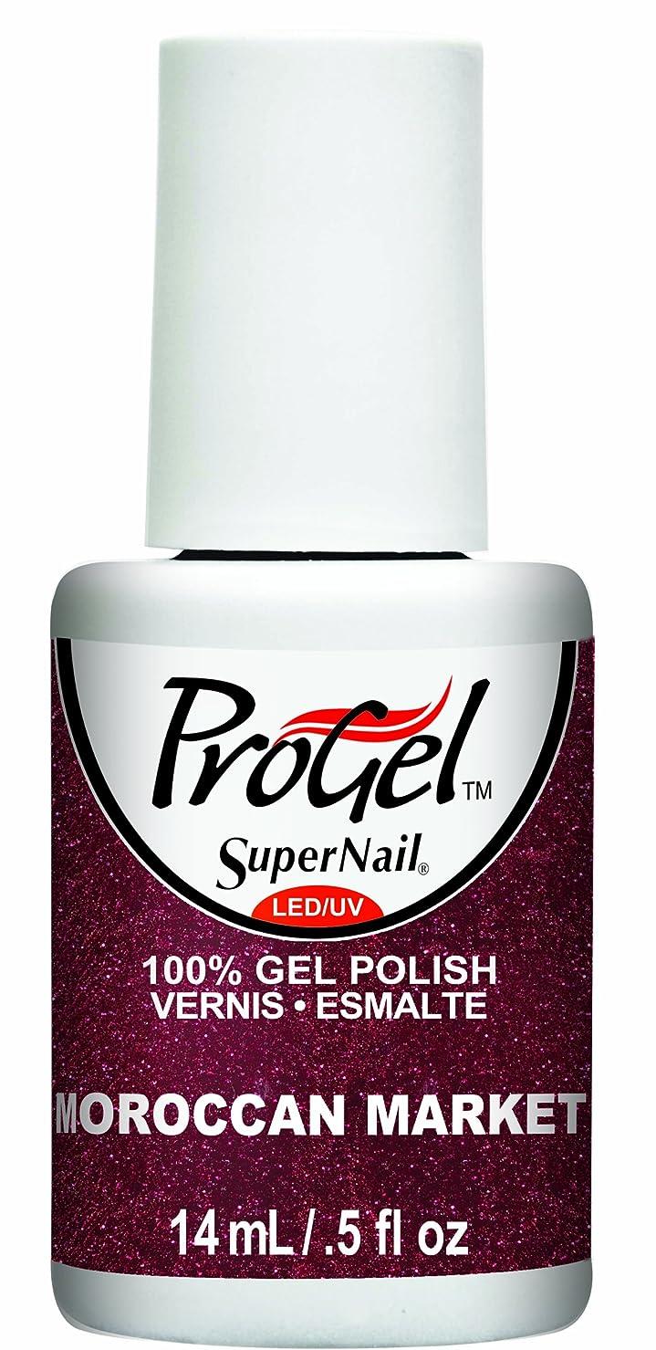むしゃむしゃバンケット馬力SuperNail ProGel Gel Polish - Moroccan Market - 0.5oz / 14ml