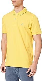 GANT Men's Contrast Collar Pique Ss Rugger Polo Shirt