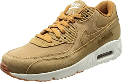 Amazon.com | Nike Air Max 90 Ultra 2.0 Leather (Flax) | Road Running