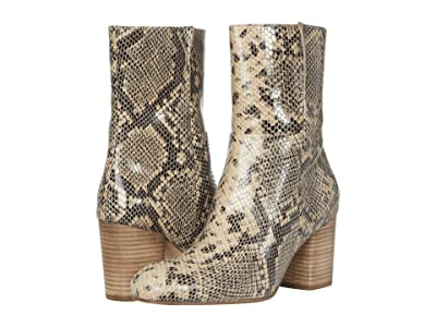 Seychelles Wild Ride (Black/Natural Python) Women